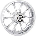 Rear Chrome 18 x 5.5 Largo 3D Wheel for ABS - 3D-LGO185CH-ABS