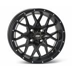Matte Black Front or Rear 16 x 7 Hurricane Wheel - 1621963017B