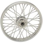 Chrome Front 21x2.15 40-Spoke Laced Wheel w/ABS - 0203-0623