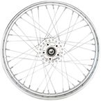 Chrome Front 21x2.5 40-Spoke Laced Wheel - 0203-0628
