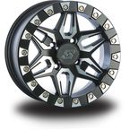 Front/Rear Split 6 Beadlock 14x7 Wheel - 570-1243