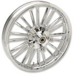 Chrome Front 21 x 3.5 Precision Cast Atlantic 3D Wheel (ABS) - 0201-2223