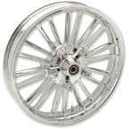 Chrome Front 21 x 3.5 Precision Cast Atlantic 3D Wheel (Non-ABS) - 0201-2222