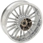 Chrome Rear Precision 18 x 5.5 Cast Atlantic 3D Wheel (Non-ABS) - 0202-2111