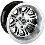 Black Rear 547X 12x8 Wheel - 0230-0896