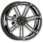 Black 7 Valve 17x6.25 Forged Aluminum Rear Wheel (ABS) - 10301-201-6501