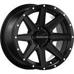 Black Front/Rear Hostage Raceline 14x7  Wheel - 570-1621