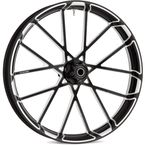 Black Front Procross 21 x 3.5 Forged Aluminum Wheel (ABS) - 10101-204-6010