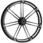 Black Front 7 Valve 21 x 3.5 Forged Aluminum Wheel (ABS) - 10301-204.6010