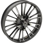 Black Atlantic 3D Front Wheel (Non-ABS) - 0201-2259