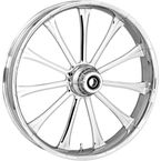 Front 21 in. x 3.5 in. One-Piece Exile Forged Aluminum Wheel w/ABS - 213509031A14122