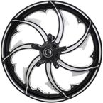 Black Cut 26 x 3.75 in.Fury Forged Aluminum Front Wheel for ABS - 2502-FRY-263-BC