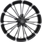 Front Contrast Cut 23 in. x 3.75 in. Forged Fuel Aluminum Wheel for Non-ABS - 1503-FUL-263-BC