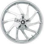 21 in. x 3.5 in. Hurricane Precision Cast 3D One-Piece Wheel w/o ABS - 3D-HUR213CH