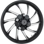 21 in. x 3.5 in. Hurricane Precision Cast 3D One-Piece Wheel w/o ABS - 3D-HUR213BC