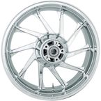 Chrome Rear 18 in. x 5.5 in. Hurricane Precision Cast 3D One-Piece Wheel - 3D-HUR185CH
