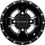 Black Raceline A77 Mamba 9x8 Wheel - A7798011-35