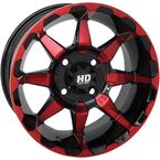 Red HD6 Rear Wheel  - 14HD603-RED