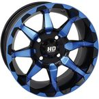 Blue Rear HD6 Wheel - 14HD603-BLU