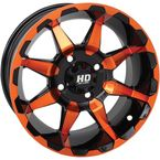 Orange Rear HD6 Wheel - 14HD603-ORG