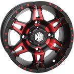 Red Rear Radiant HD7 Wheel - 14HD707-RED