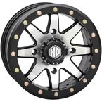 Matte Black Rear Comp Lock HD9 Wheel - 14HB908