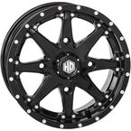 Solid Gloss Black Rear HD10 Wheel - 15HD1027