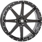 Machined Gloss Black Front/Rear HD10 Wheel - 20HD1027
