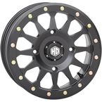 Matte Black Beadlock Wheel - 14HA123