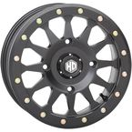 14 in. Matte Black HD9 Beadlock Ring - 14HB9R5