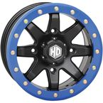 14 in. Blue HD9 Beadlock Ring - 14HB9R7