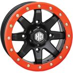 14 in. Orange HD9 Beadlock Ring - 14HB9R9