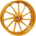 Gold Rear Assault 18x5.5 Wheel - 12697814RASLAPG