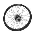 Black 16x3.00 40 Spoke Front Wheel - 51683