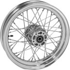 Chrome Tubeless 16x3.00 40 Spoke Rear Wheel - 51708