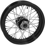 Black Tubeless 16x3.00 40 Spoke Rear Wheel - 51715