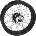 Black Tubeless 16x3.00 40 Spoke Rear Wheel - 51716