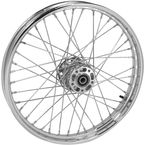 Chrome Tubeless 21x2.15 40 Spoke Front Wheel - 51701