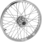 Chrome Tubeless 21x2.15 40 Spoke Front Wheel - 51704