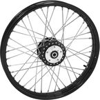 Black Tubeless 21x2.15 40 Spoke Front Wheel - 51712
