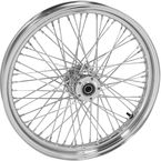 Chrome Tubeless 23x3.00 60 Spoke Front Wheel - 51694