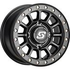 Black Sano Beadlock 14x7 Wheel - 570-2010