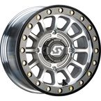 Cast/Black Sano Beadlock 14x7 Wheel - 570-2013