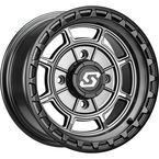 Carbon Gray Rift 15x6 Wheel - 570-2042