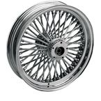 Chrome 21 x 2.15 Fat Daddy 50-Spoke Radially Laced Wheel for Single Disc - 0203-0255