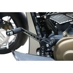 Black Stealth I-Beam Toe Shift Lever - TSL-B