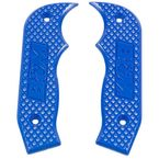 Blue Magnum Grip Side Plates - 81201