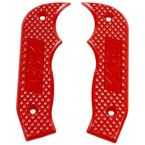 Red Magnum Grip Side Plates - 81204