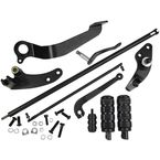 Black Forward Control Set/ISO Pegs - 30-7050-B