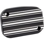 Black 10-Gauge Front Clutch Master Cylinder Cover - 03-235